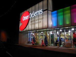 Omer DeSerres - Québec - Colombie - Britanique - Ontario